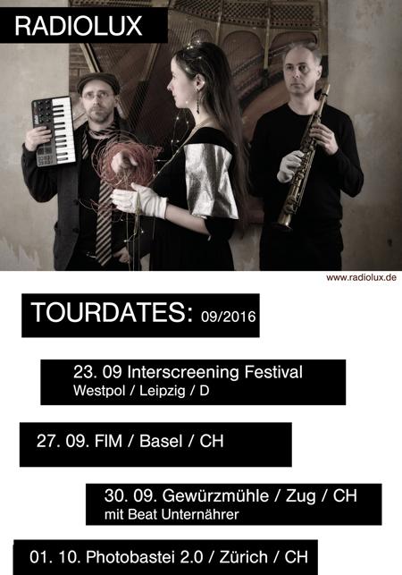 Tour Poster Radiolux Autumn 2016